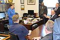 Rep Kaptur talks with the Cleveland Building and Construction Trades Council (33859117035).jpg