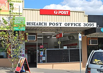 Research, Victoria - Post office