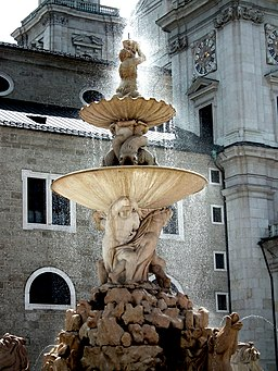 Residenzbrunnen in der Österreichischen Altstadt