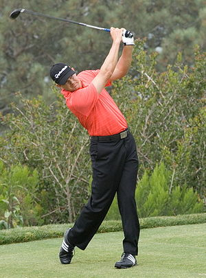 The South African professional golfer Retief G...
