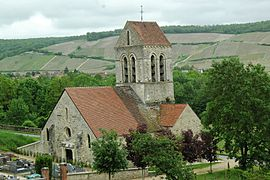 The church of Reuilly-Sauvigny