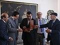 Reunión del Canciller Falconí con delegación de Libia (4092257027).jpg