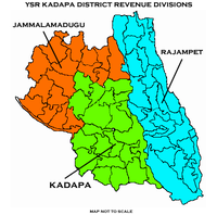 Revenue divisions map of Kadapa district.png