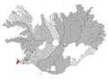 Reykjanesbaer map.png