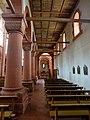 Rheinmünster, Klosterkirche Schwarzach, südliches Seitenschiff, Blick nach Osten 2.jpg
