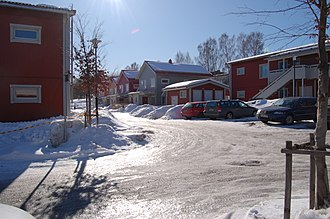 Västerhaninge - Image: Ribby angar