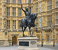 Richard I of England - Palace of Westminster - 10092009.jpg