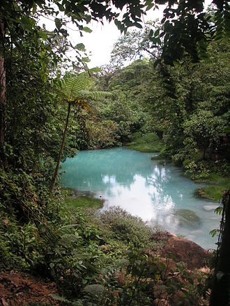 Tenorio Volcano National Park - Image: Rio celeste