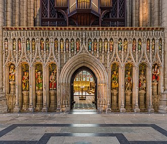 Ripon Cathedral - The rood screen