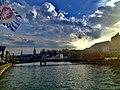River Limmat, Zurich Limmatquai 01.jpg