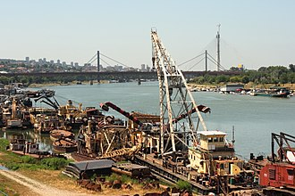 Riverboat - Various service riverboats, Belgrade