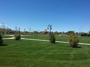 Riverton, Utah - A photo of Riverton City Park.