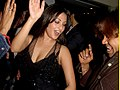 Riya Sen at Subhas Ghai Christmas Party 2011.jpg