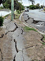 Road damage New Brighton 22 Feb Canterbury Earthquake.jpg