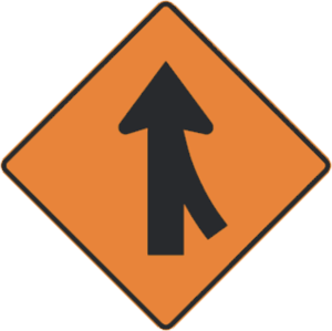 Road sign merging