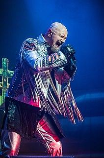 Rob Halford English heavy metal singer
