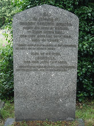 Robert Collier, 1st Baron Monkswell - Funerary monument, Brompton Cemetery, London