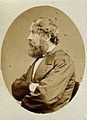 Robert Druitt. Photograph by Ernest Edwards, 1868. Wellcome V0028446.jpg