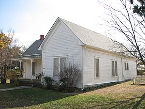 National Register of Historic Places listings in Callahan County, Texas - Image: Robert E. Howard House 6