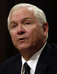 Robert Gates, testifying before Senate Armed Services Committee, December 5, 2006.jpg