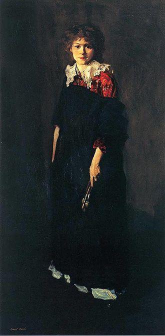 Josephine Hopper - Robert Henri - The Art Student (Miss Josephine Nivison)