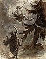 Robert Wilhelm Ekman - Väinämöinen and Ilmarinen by the Giant Spruce.jpg