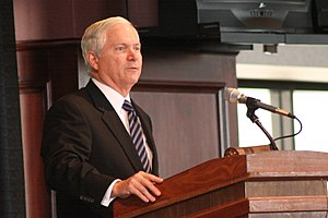 Robert Gates - Gates at Texas A&M