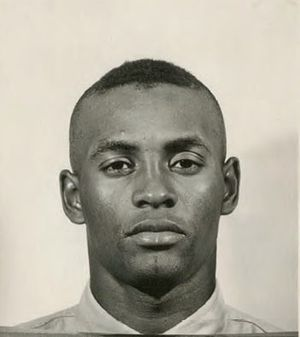 Roberto Clemente - Clemente in the U.S. Marine Corps Reserve, 1958