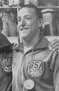Robin Backhaus American swimmer, Olympic bronze medalist, world champion, former world record-holder