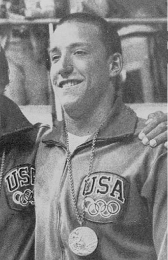 Robin Backhaus - Backhaus at the 1972 Olympics
