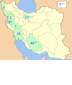 Rock reliefs of Ancient Iran by provinces.png