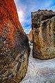 Rocks at Squeaky Beach (26919258381).jpg