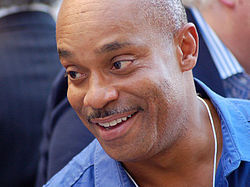 Rocky Carroll á verðlaunaafhendingu Hollywood Walk of Fame 2012