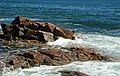 Rocky shore & waves (next to Thunder Hole, Mt. Desert Island, Maine, USA) 6.jpg