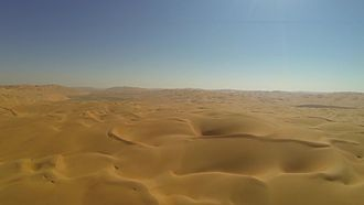 Geography of the United Arab Emirates - Rolling Sand Dunes Of Abu Dhabi near Liwa