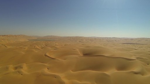Rolling Sand Dunes of Abu Dhabi