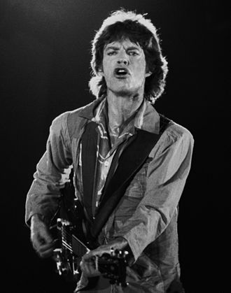 Mick Jagger - Jagger performing in 1982