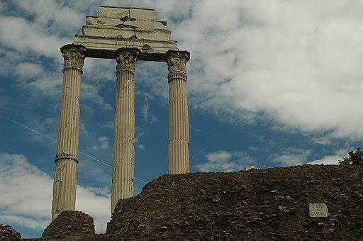 Roma-tempiodioscuri01