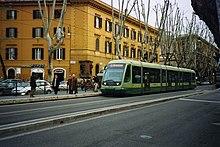 Tram ATAC serie 9200 a Roma (Rete tranviaria di Roma)