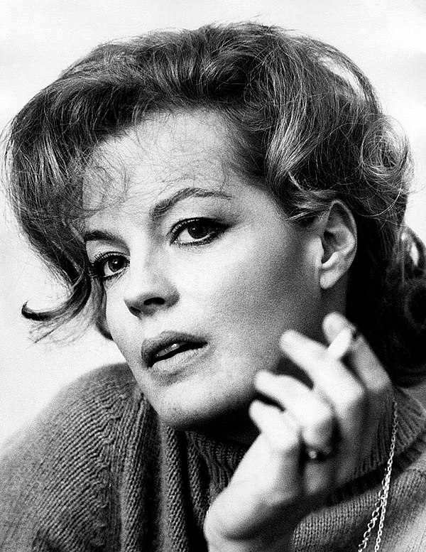 Photo Romy Schneider via Wikidata