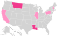 Ron Paul Ballot Access Locator Map, 2008 (United States of America).png
