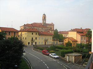 Panorama di Ronco Biellese