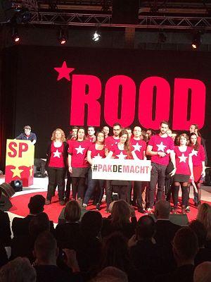 ROOD - ROOD op het 22e SP-congres, 2017