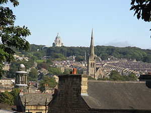 Lancaster, Lancashire - Image: Rooftops of Lancaster