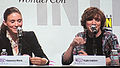 Rooney Mara & Kyle Gallner at WonderCon 2010 1.JPG