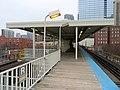 Roosevelt station platform, December 2018.JPG