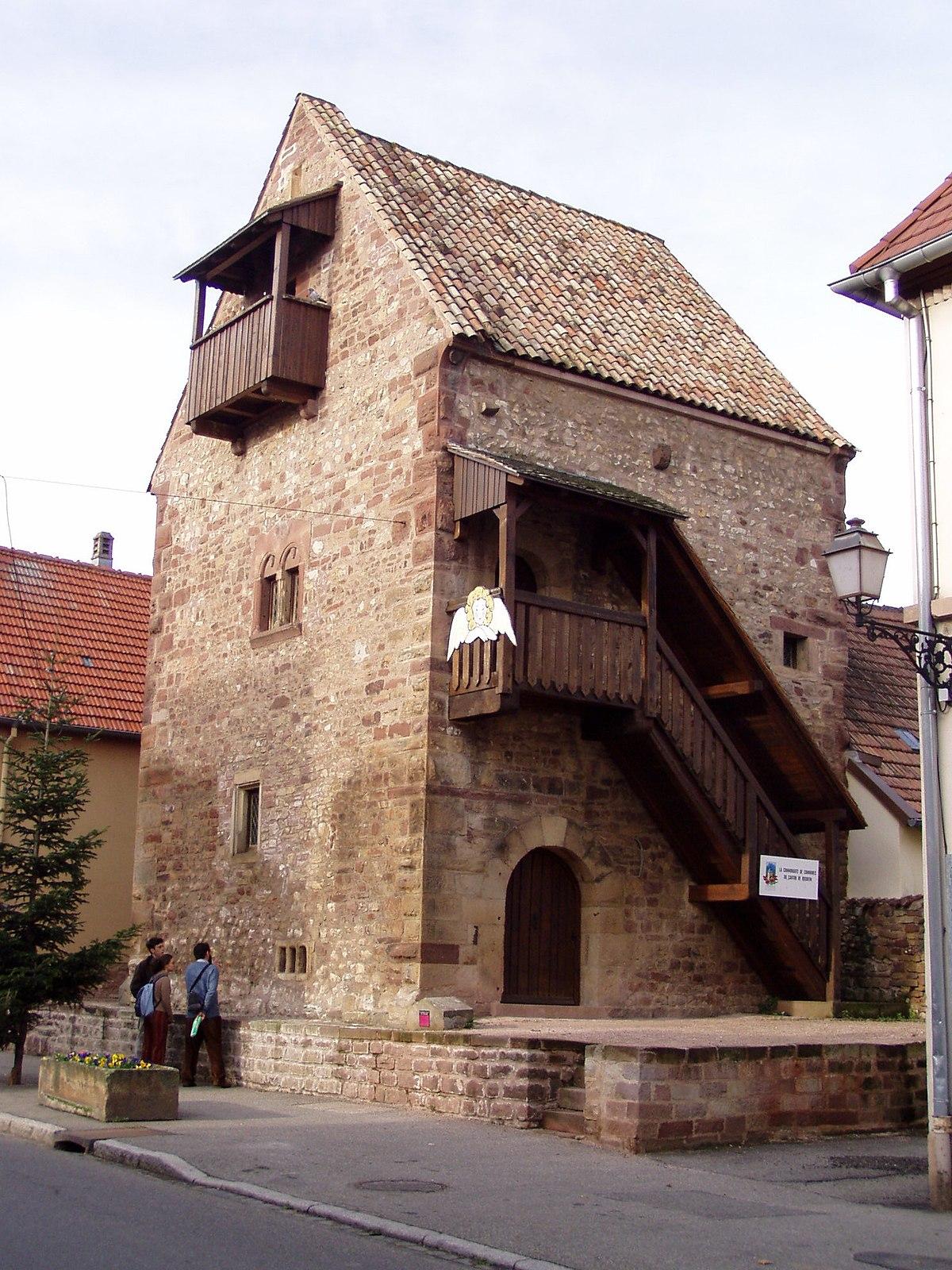 Maison Romane De Rosheim Wikip 233 Dia