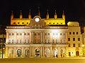 Rostocker Rathaus at night.jpg