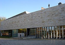 Exterior view of the Kunsthal Rotterdam