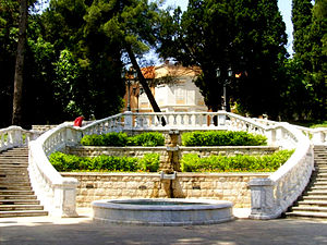 Royal Garden in Podgorica